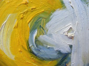 Image of a textured oil paint surface