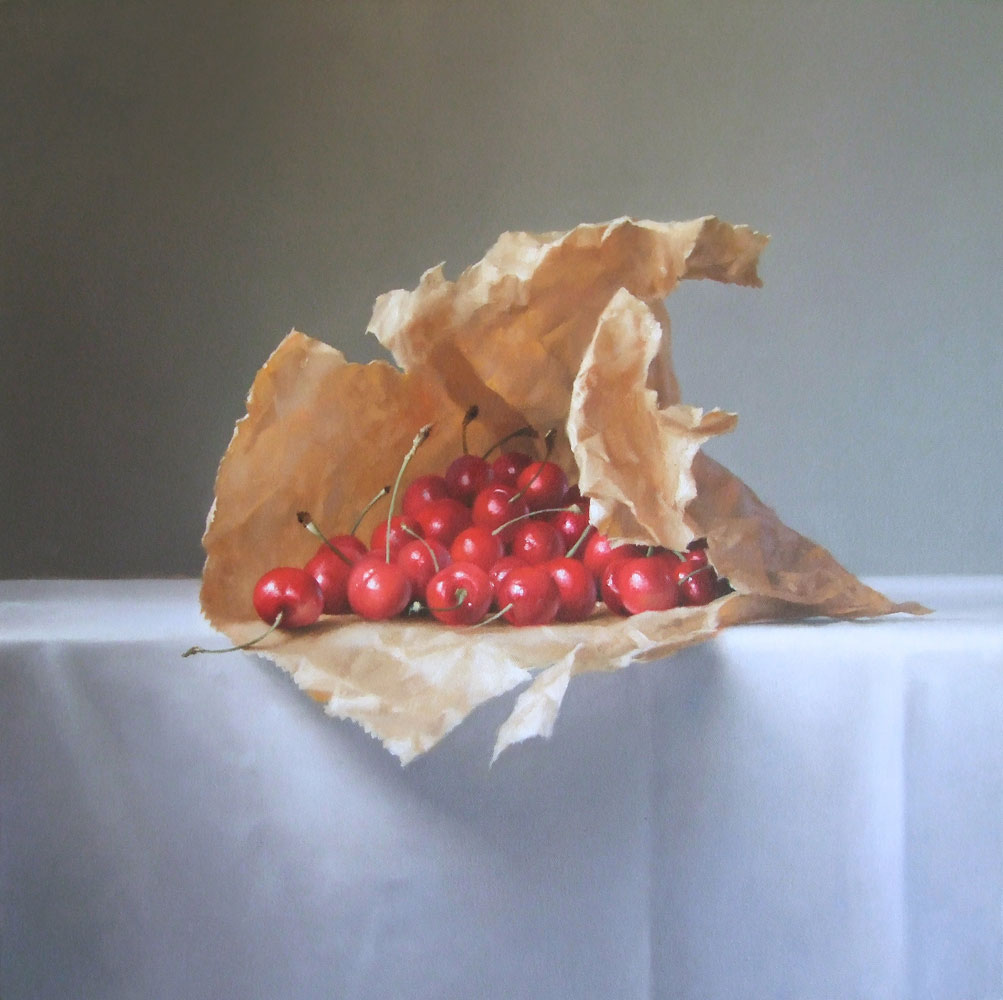 Lucy McKie Cherries in a Paper Bag