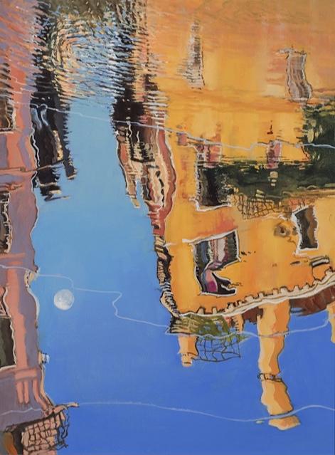 Venetian Reflection 2 - Palazzo - Brian Ryder