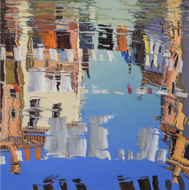 Venetian Reflection 6 - Washing - Brian Ryder