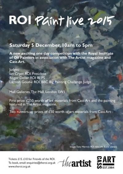 ROI Paint live event – December 5th