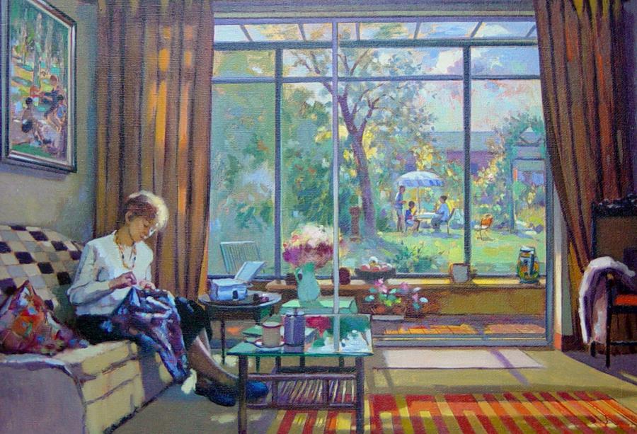Summer - painting by Pier Luigi Baffoni