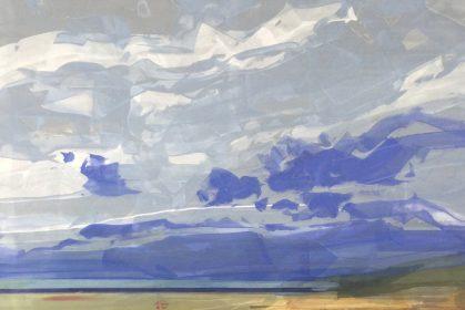 'Warm Sands' (acrylic) by Natalia Avdeeva