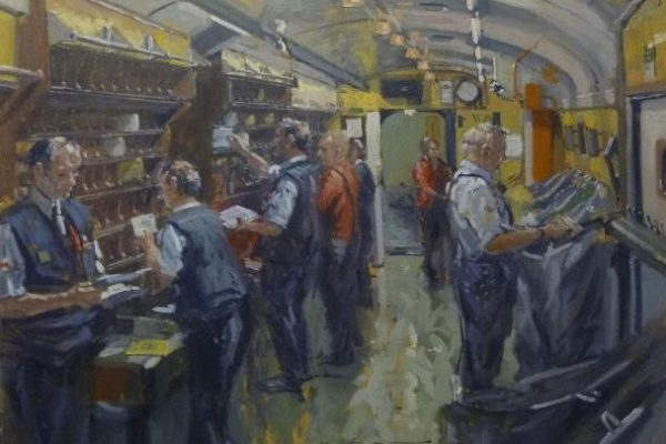 The travelling Post Office by Ian Cryer