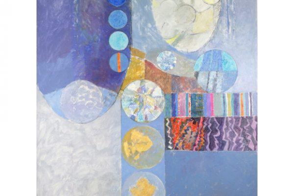 Northumberland Landscape - Mixed media on canvas