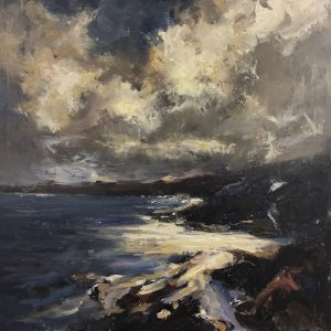 Devon Coastline Roger Dellar 20 x 20 inches | £1,895