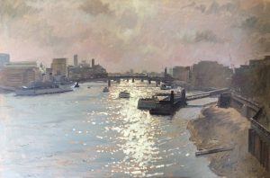 Thames View Ian Cryer (PROI) 36 x 24 inches | £3,750