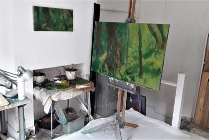 'Becky falls' - Philip James' studio
