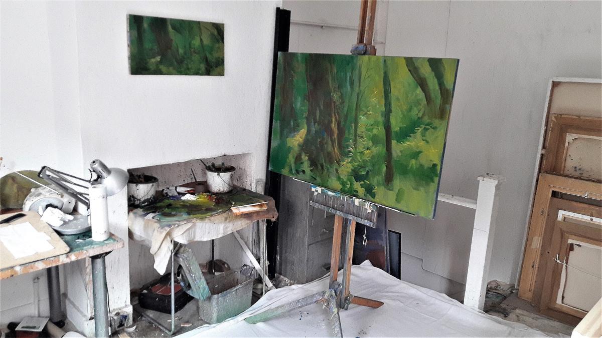 'Becky falls' -  Philip James' studio