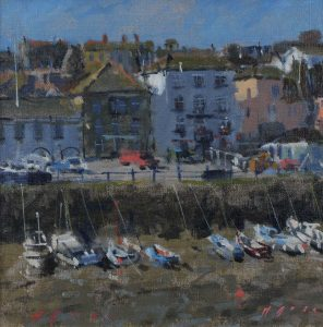'Falmouth Custom House Quay' by Maria Rose
