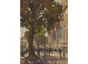 'Outside the V&A' by Johnny Walsom AROI