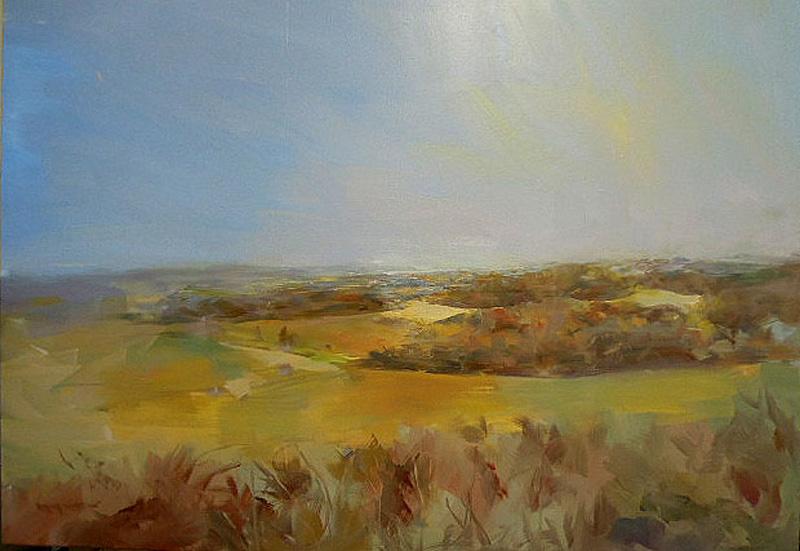 View of Studland, Dorset