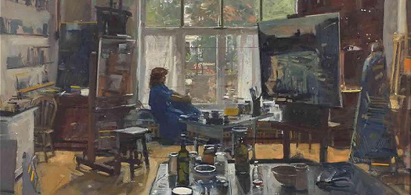 Ken Howard RA, FROI, OBE