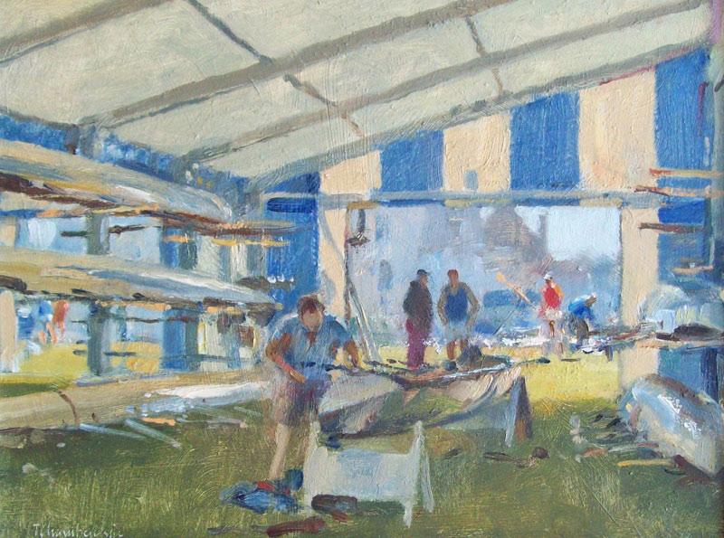 In the Boat Tent, Henley Regatta