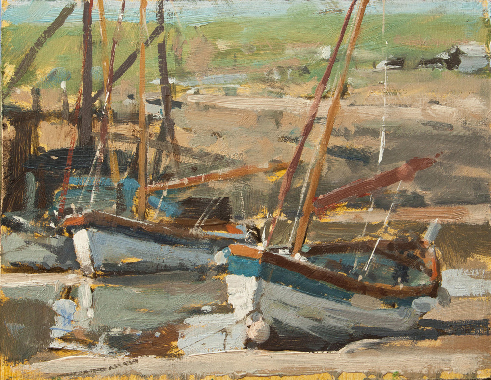 Boats at Blakeney