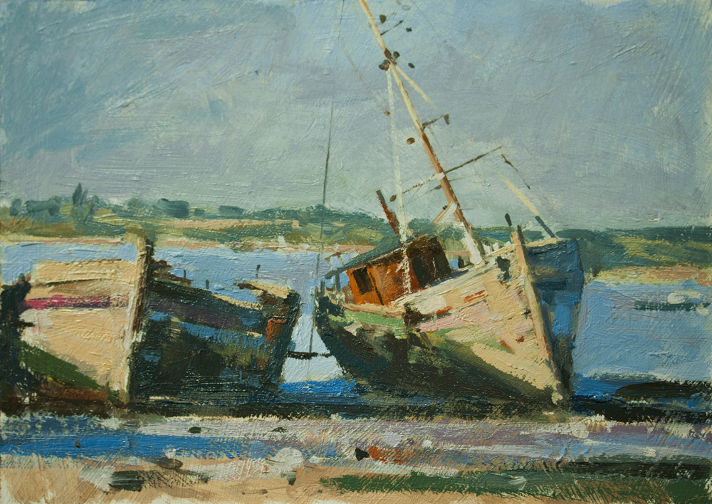 Forgotten Boats at Pin Mill