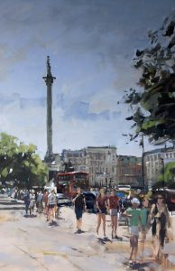 Nelson's Column Graham Webber 16 x 24 inches | £1,600