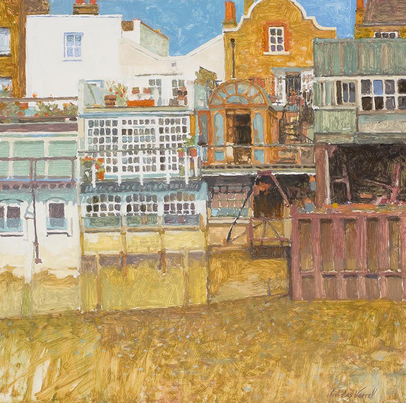 Thames Waterfront 40x40 cm