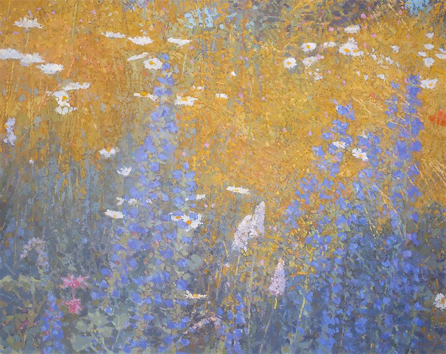 The meadow in June 101x125 cm