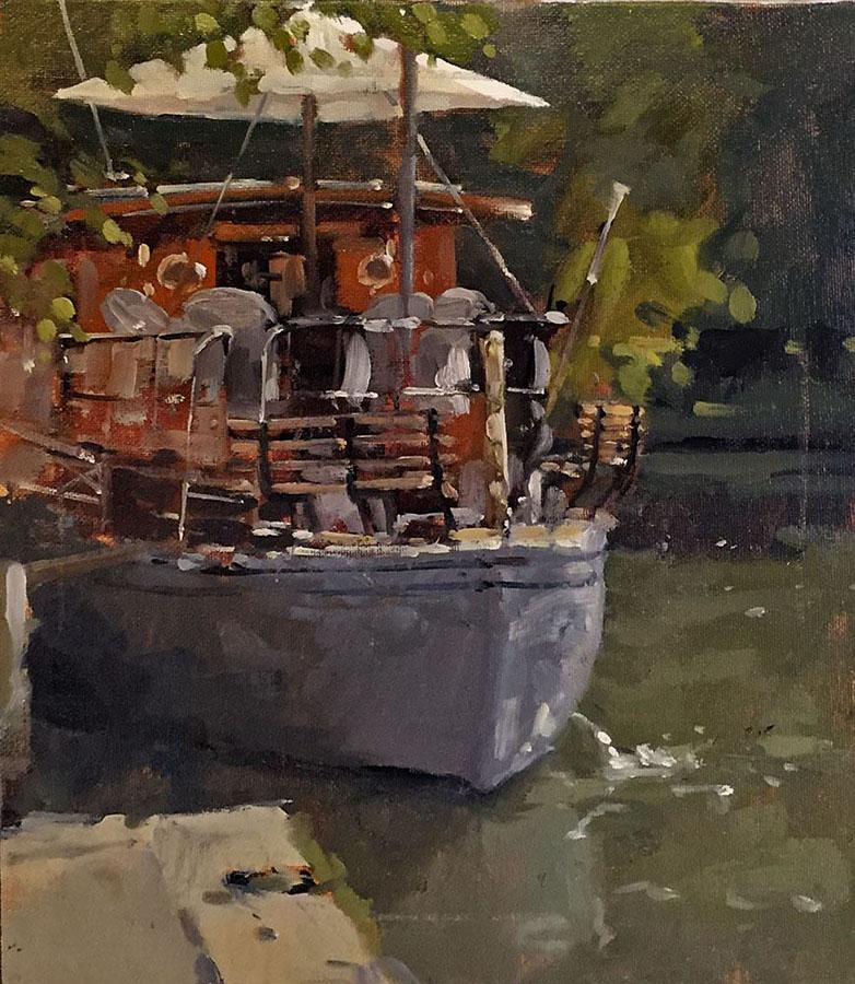 Boat at Shepperton