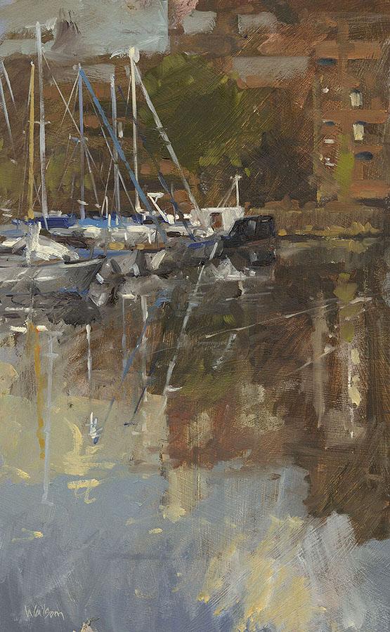 St Katharine Docks Reflections