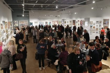 Image of the ROI private view
