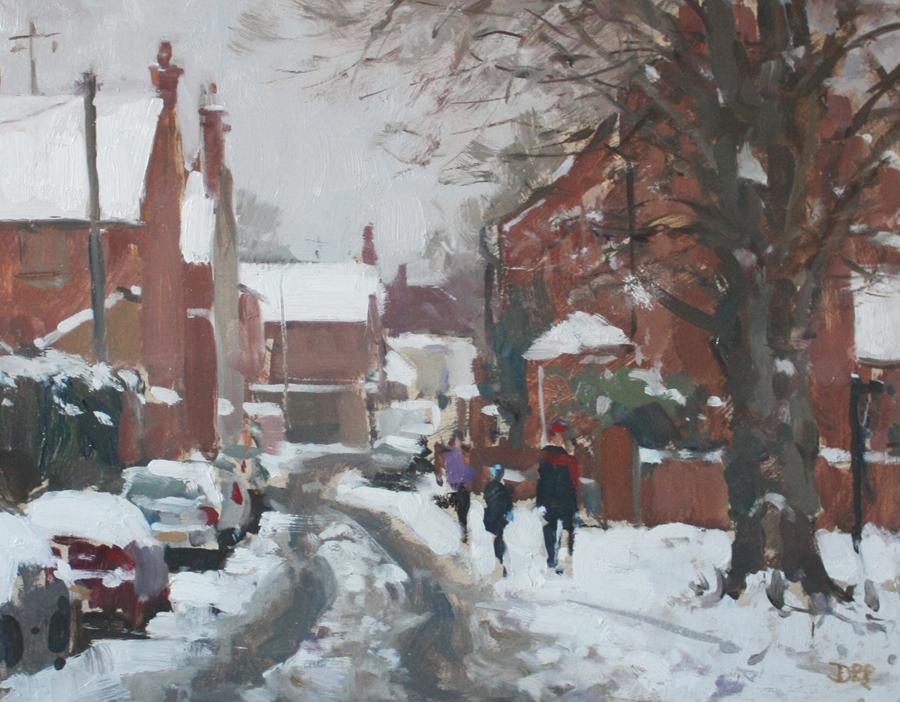 pilgrim-david-winter-stroll--mill-lane--stony-stratford-web