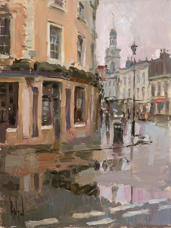 April Drizzle, Greenwich High Street