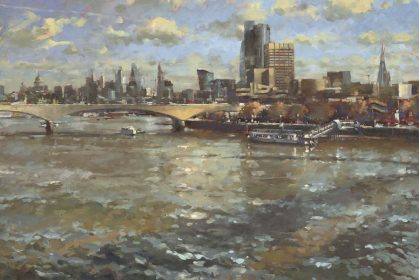 South Bank, Breezy Day