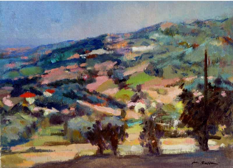 Hills near rimini
