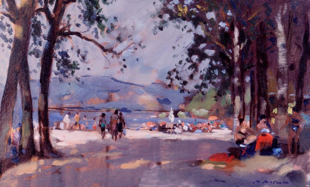 By Lake Trasimeno, Umbria, by Pier Luigi Baffoni