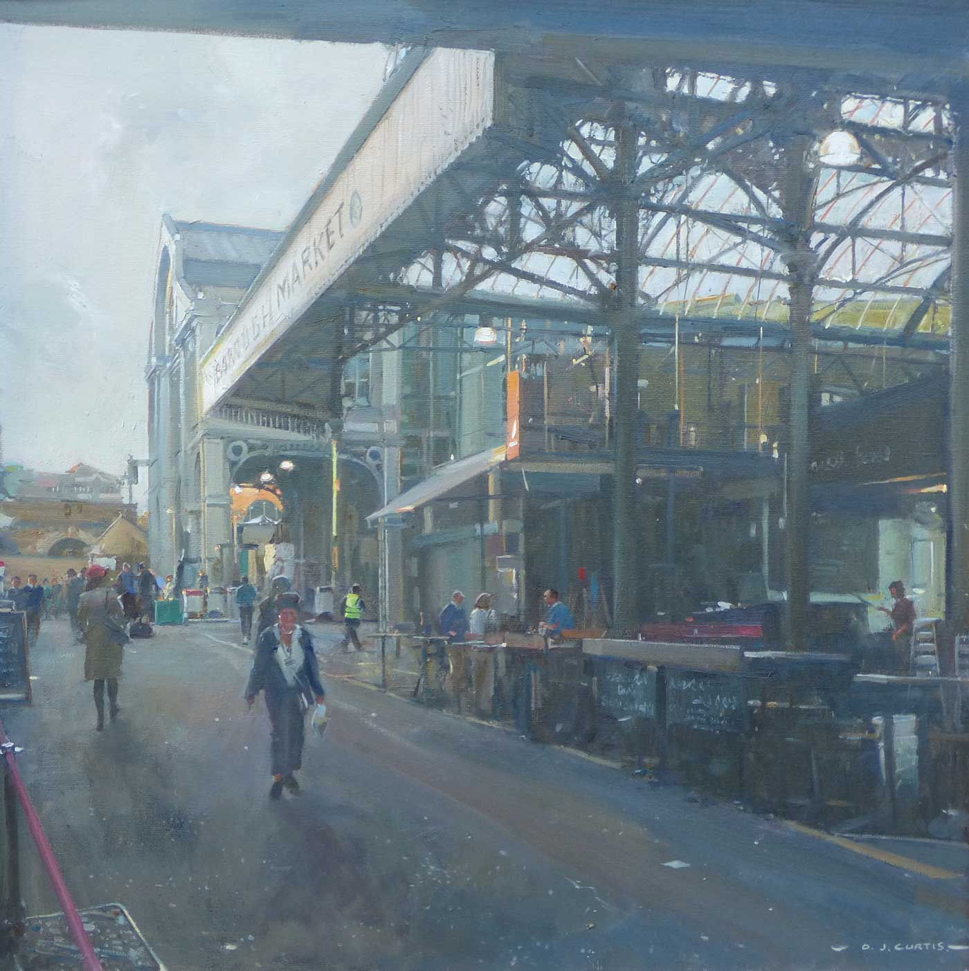 'Heading for Home, Borough Market'