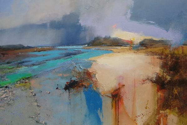 A Place to Dwell, 80cm x 100cm, Oil on Canvas painting by Peter Wileman
