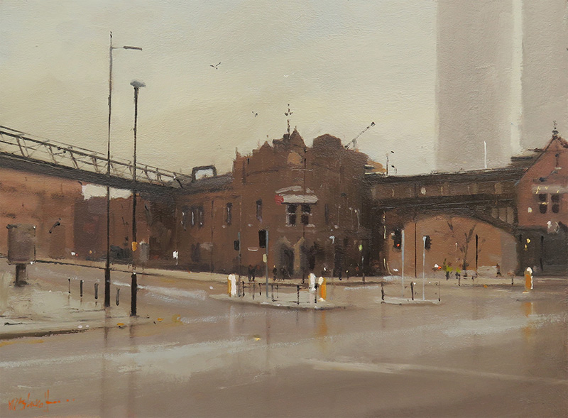 Crossroads, Deansgate Station, Manchester 9x12_web