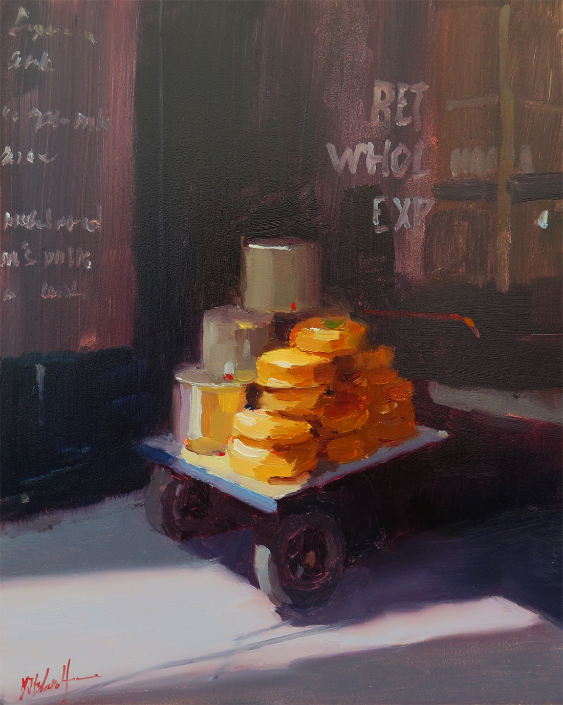 The Cheese Trolley, Borough Market, London 10x8