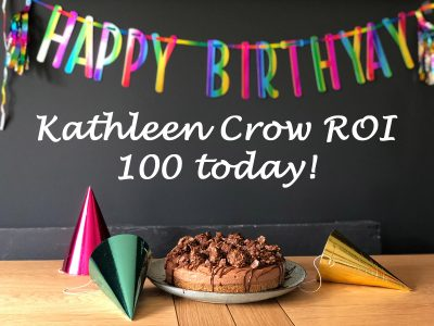 Happy 100th birthday – Kathleen Crow ROI