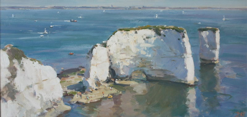 Late morning, Old Harry Rocks