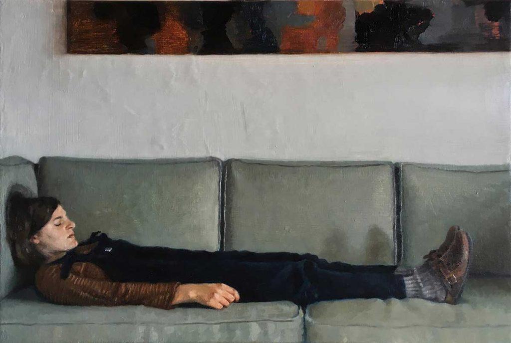 Anna Calleja – Alone in quarantine (Winsor & Newton Young Artist Award: 2nd)