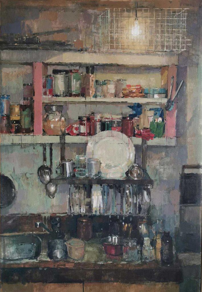 Bernadett Timko – Chris' kitchen (Winsor & Newton Young Artist Award: 3rd)