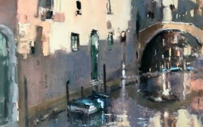 Brian Ryder ROI – paintings for this year's annual show
