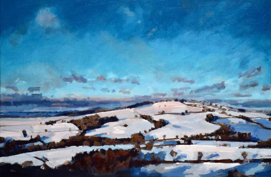 Raddon in snow