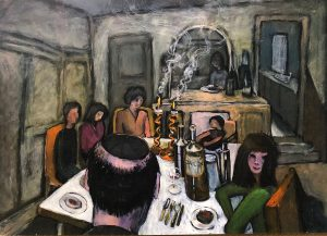 Painting by Naomi Alexander ROI